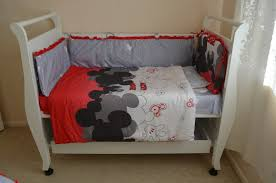 Mickey Mouse Crib Bedding Sets Baby Mickey Mouse Crib Bedding Office And Bedroom Mickey Mouse