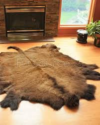 Fake Lion Skin Rug With Head Xl Buffalo Robe Bison Hide Rug 40 45sq Ft Http Www Fursource