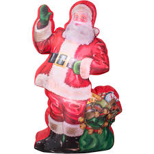 costway 6 ft airblown tree santa decor
