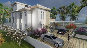 modern vila design 16 lumion render free sketchup model sam