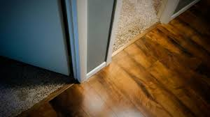 Carpeting Over Laminate Flooring How To Install Floor Transition From Carpet To Wood On Concrete
