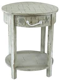 Square Accent Table Accent Table White White Accent Table Shell 1 Drawer
