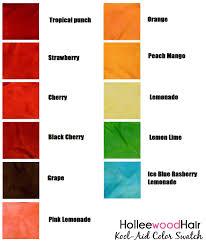 kool aid hair color how to dye your hair with kool aid