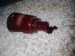 dealing with a nail polish stain in your carpet e u0026b carpet cleaning