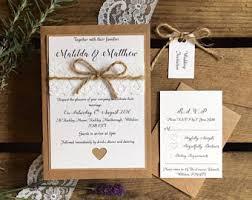 wedding invitation bundles invitations etsy uk