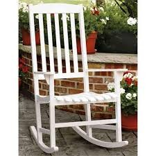 Mainstays Patio Furniture by Mainstays Outdoor Rocking Chair White Inspirations Home