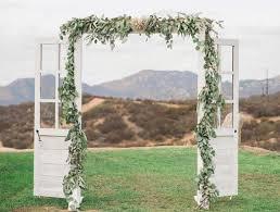 wedding arch using doors wedding doors cedar and pine events