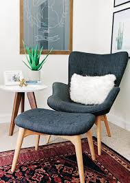 Best Armchair For Reading Alexandra Evjen Nursery Reveal Modern Nurseries Reading Nooks