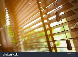 wooden blinds sun light stock photo 684201838 shutterstock