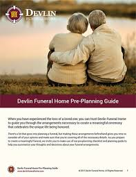 funeral pre planning cremation funeral planning checklist devlin funeral home