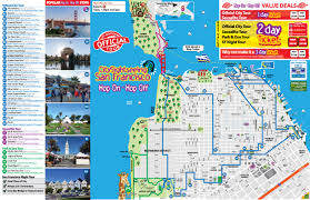 San Francisco Map Pdf Popular 189 List Tourist Attractions In San Francisco Map