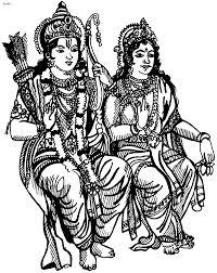 goddess lakshmi coloring page goddess sita maa coloring page