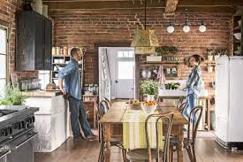 how to hang kitchen cabinets on brick wall 30 farmhouse kitchen ideas for a warm and cozy cooking space