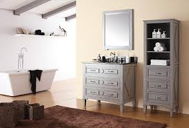 34 Inch Bathroom Vanity 37 Inch Grayish Blue Transitional Bathroom Vanity With Top Option