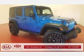 jeep wrangler oklahoma city used jeep wrangler for sale in oklahoma city ok edmunds