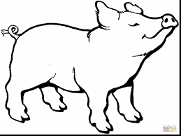 extraordinary peppa pig coloring pages with guinea pig coloring