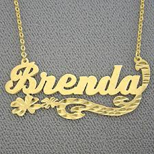 brand name necklace images Name necklace personalized brenda gold jewelry jpg