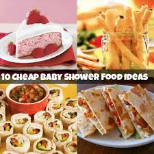ideas for food at a baby shower home design inspirations