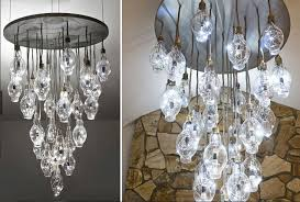 Light Bulb Chandeliers Brc S Halide Chandelier Transforms 28 Disused Lightbulbs Into A