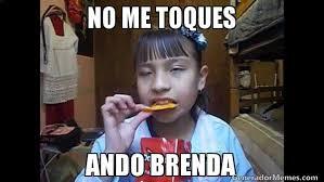 Brenda Memes - no me toques ando brenda meme de ni祓a del dorilocos imagenes