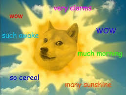 Doge Meme Font - a cryptocurrency created as a joke about a dog meme now has a