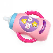 baby toys with lights and sound cute milk bottle learning toy baby toys with sound and light