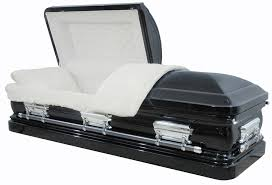 black caskets best price caskets 8380 black casket 18ga br white velvet