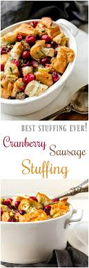 cranberry sausage or dressing recipe it s yummi bites