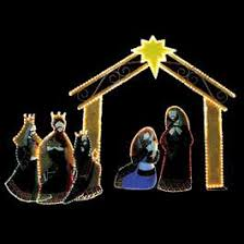 Outdoor Lighted Nativity Sets For Sale Features Light Decor Entrancing Lighted Nativity Scene For