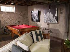Covering Concrete Walls In Basement by Industrial With Contrast Love The More Traditional Feeling