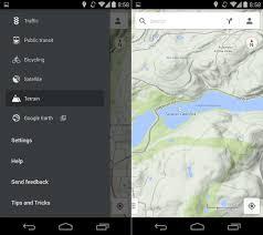 maps apk version maps version 8 1 0 features terrain view for mobile apk