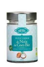 huile de noix de coco cuisine huile vierge de noix de coco bio 314ml délice