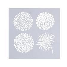 online shop cake stencil flowers heart shape fondant decorating