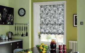 Kitchen Window Blinds by Roller Blind In A Kitchen Surrey Blinds U0026 Shutters