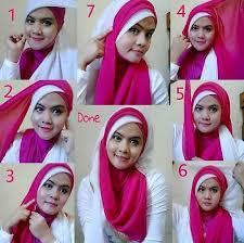 Tutorial Jilbab Dua Jilbab | memakai jilbab dua warna untuk pesta