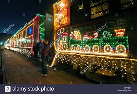 sunol train of lights in sunol calif on thursday december 28 2006 mimi convento of