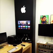 An Insane Apple Store Inspired Home Office Design Office Designs - Designing a home office