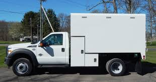 isuzu landscape truck tree and arbor service vehicles for sale chipper chip box