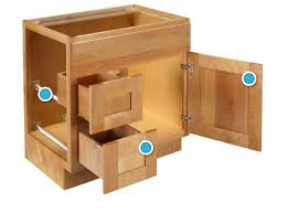 Bath Vanity Cabinets Cabinet Construction Details For Bath Vanities Bertch Cabinets