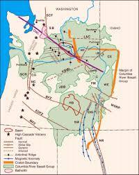 physical map of oregon juan de fuca plate olympic wallowa lineament
