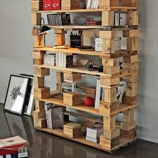 Creative Bookshelf Ideas Diy Diy Pallet Bookshelf Ideas U2013 Cool Pallet Furniture Designs