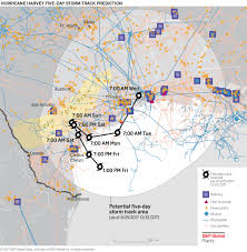 Map Of Dallas Area America U0027s Largest Refinery Threatened By Hurricane Harvey 24 7