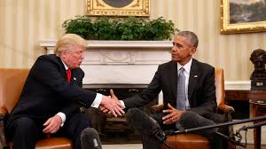 Oval Office Wallpaper by Obama Meets With Trump At White House The Washington Post