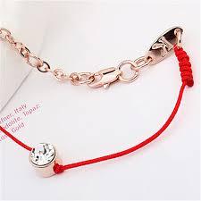 bracelet crystal string images Shdede new fashion chinese red string bracelets national jpg
