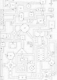 The Masque Of The Red Death Floor Plan by What A Horrible Night To Have A Curse August 2010