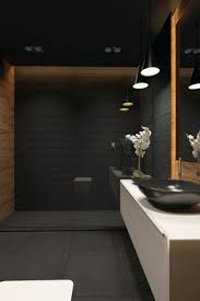 The Best Bathrooms Weve Seen All Week Dark Bathrooms Matte - Black bathroom designs