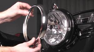 how to install a headlight on a harley davidson by j u0026p cycles