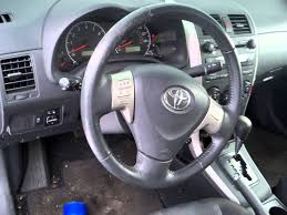 lexus recall for airbags 2009 toyota corolla airbag failure youtube