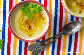 comment cuisiner des feves seches bissara purée de fèves séchées cuisinons en couleurs