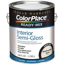 colorplace sundrenched sand ready mix semi gloss interior 1